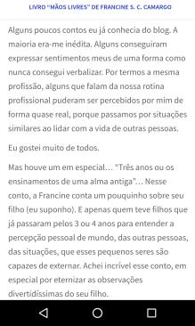 Reflexões de Silvia Souza